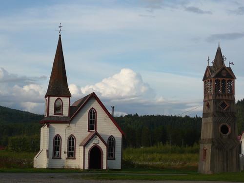 Iglesia en Kitwanga