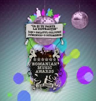 Romanian Music Awards Iasi Palatul Culturii 5 octombrie