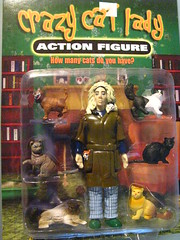 Crazy Cat Lady action figure front