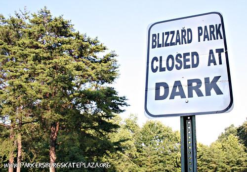 Parkersburg Skate Plaza Location - Blizzard Park