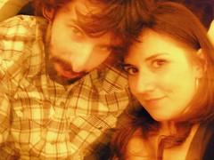 Is this love... ([ - P a b l o - ]) Tags: love amor pablo romi barba rominita