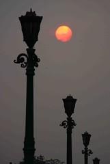 Approaching Maghrib (Mangiwau) Tags: street sunset sun streets indonesia solar dusk scene holy jakarta raya setting month scenes ramadhan fasting maghrib jalna ultimateshot wowiekazowie earthasia