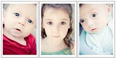 all three little different amazing wonderful faces on the same day in september. (sesame ellis) Tags: twins babies faces daughters son mykids storyboard littlekid racheldevine wwwracheldevinecom editedinlightroomwiththesesameellispresets