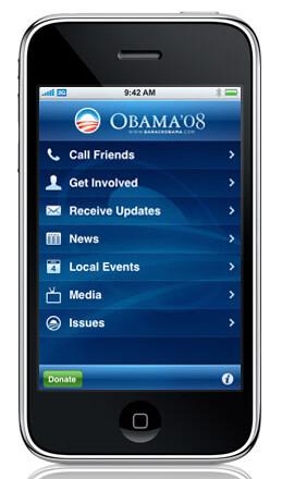 obama iphone app