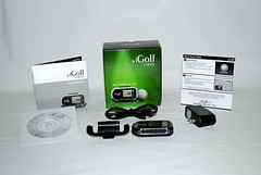 iGolf neo package contents