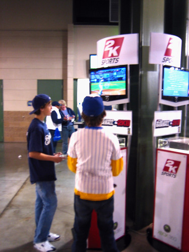 Video Games at Miller Park