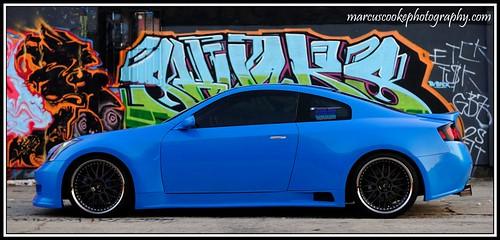 Infiniti G35 Blue. Infiniti G35 Coupe