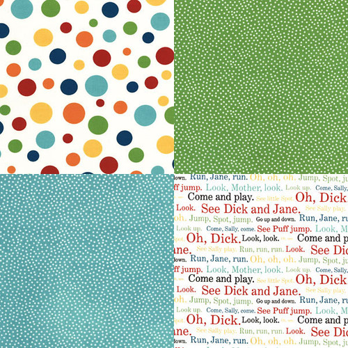 Dick&Jane Fabric Swatches