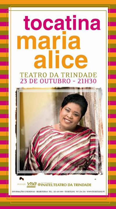 Maria Alice - Flyer