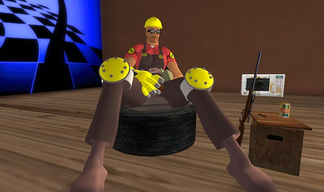 Team Fortress 2 Engineer Avatar by Second Sights