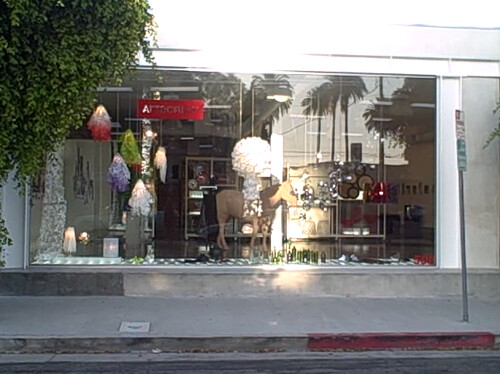 A shiny new showroom on San Vicente