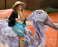 Hillsborough Handmade Parade: Blue Heron (Oberazzi) Tags: river giant nc puppet handmade north arts parade eno carolina council creatures 2008 hillsborough faved localnews pareade blindphotographers chnhillsboroughhandmadepuppetparade