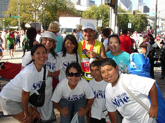 Family - Chicago Marathon 2008