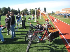 soccer field bike parking