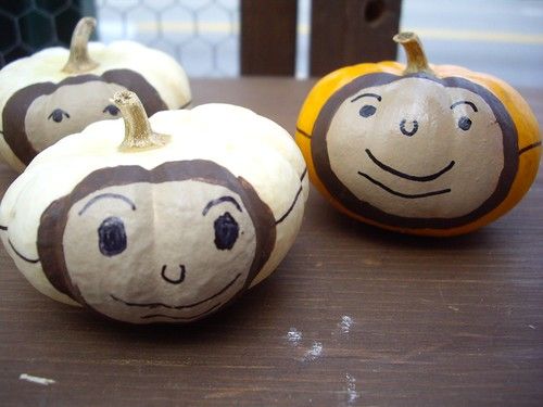 Buckeye Decorated Pumpkins