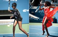 Venus Serena Williams November Harper Bazaar Magazine .