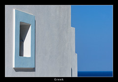White/blue (nune) Tags: travel blue shadow sea vacation white window architecture chapel greece 2008 karpathos skyarchitecture aplusphoto platinumheartaward