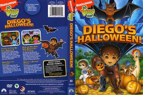 go diego go diegos halloween 3600