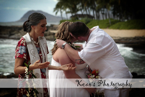 Giving of the leis