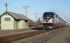 Amtrak Capitol Corridor (sharkzan) Tags: old favorite abandoned buildings structures trains historic explore amtrak santaclara commuter passenger railroads agnew stations capitolcorridor railfanning depots f59phi cdtx2004