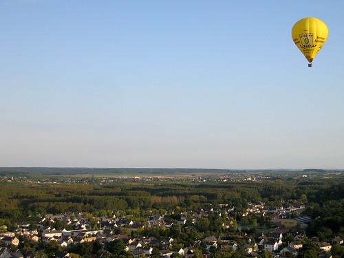 Découvrez Saumur à bord d'une montgolfière