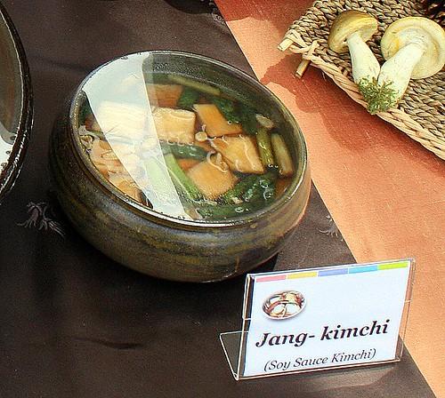 Jang-kimchi - Soy Sauce Kimchi