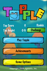 iPhone App: Topple