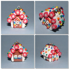Gingerbread House charm (polymer clay) (yifatiii) Tags: christmas house snow ceramica ice studio bread ginger miniature pc candy sweet handmade gingerbread charm polymerclay fimo biscuit ornament clay accessories etsy gingerbreadhouse tls dollhouse kato polymer plastica premo polyclay arcilla ceramicaplastica pastesintetiche coldporcelain polimerica prosculpt arcillapolimerica customorder arcillaspolimericas candycandies arcillaspolimricas porcelanaenfro yifatiii liquidpolymerclay fimoliquid porcelanaenfrio houseofcandy