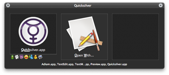 Quicksilver Comma Trick