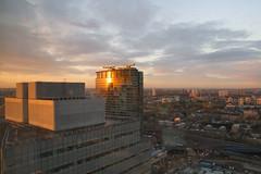 Autumn Sunset over Canary Wharf