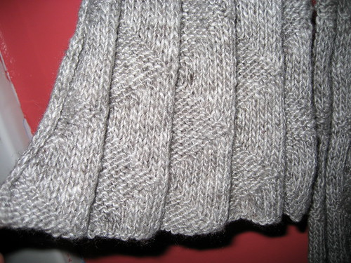 sylvan pleated scarf