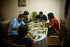 Eating at home (spo0nman) Tags: food india home cooking mom delhi moms homecooked samiah gautam gopal ishwar chola bhatura premshree