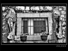 Faith no more (PILANA) Tags: blackandwhite art window croatia olympus olympusc5060 starigrad ibenik pilana renatomajeti olympusc5060widezoom