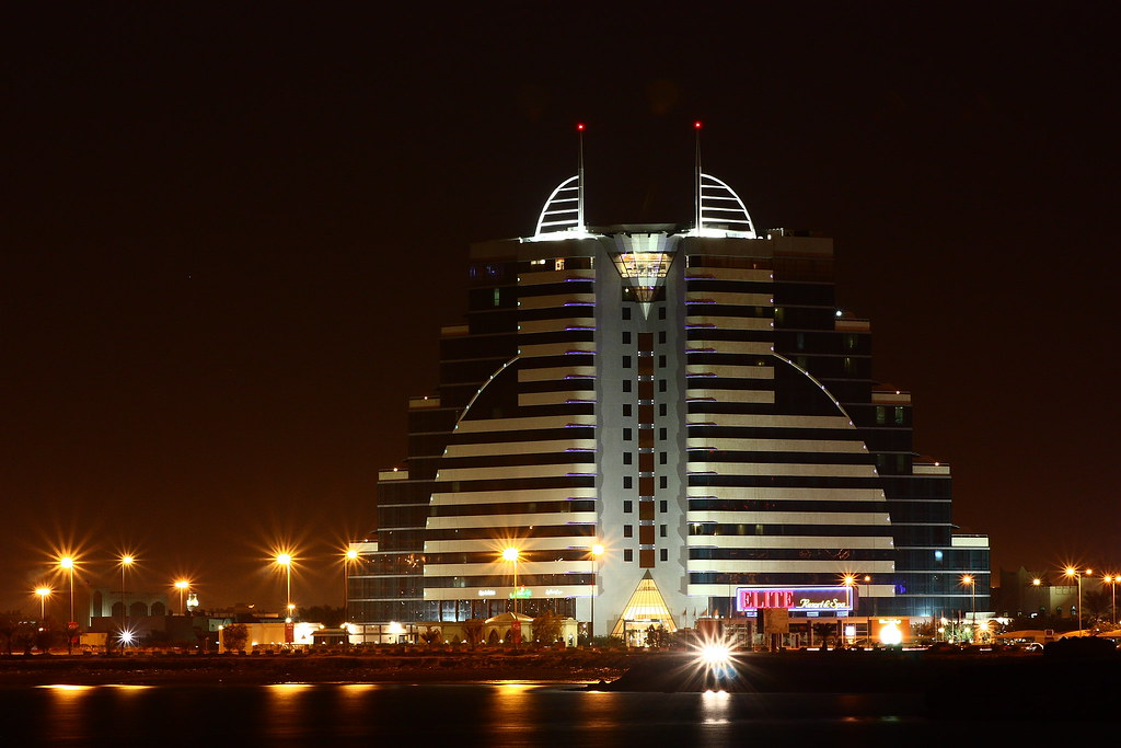 Dusk and Night photos of Bahrain