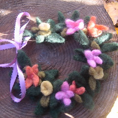 fairy crown new in my shop (haddy2dogs) Tags: toy waldorf fairy crown etsy naturalkids nfest