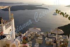 Santorini (ariannacascinelli) Tags: world sea panorama water wonderful island mare view greece grecia romantic acqua romantico beautifull isola ngi naturalmente