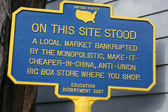 a marker in NY state (by: Marc Levin, creative commons license)