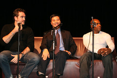 Our Panel of experts: activist Jim Pickett, Dr. Will Wong and porn star D.C. Carter