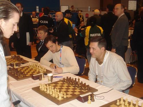 Lequip dEspanya amb Shirov, Vallejo i Illescas