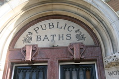 Public baths (John.P.) Tags: uk london public baths guesswherelondon camberwell se5 gwl wellsway