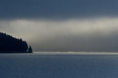 achensee in mysty fog (flik) Tags: lake fog sunrise myst achensee