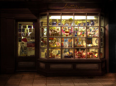 The toy shop (stocks photography) Tags: light night toys glow nightshot toystory magic magical toyshop whitstable soe bagpuss harbourstreet 5d2 5dmark2 canon5dmk11 canyouspotbagpuss