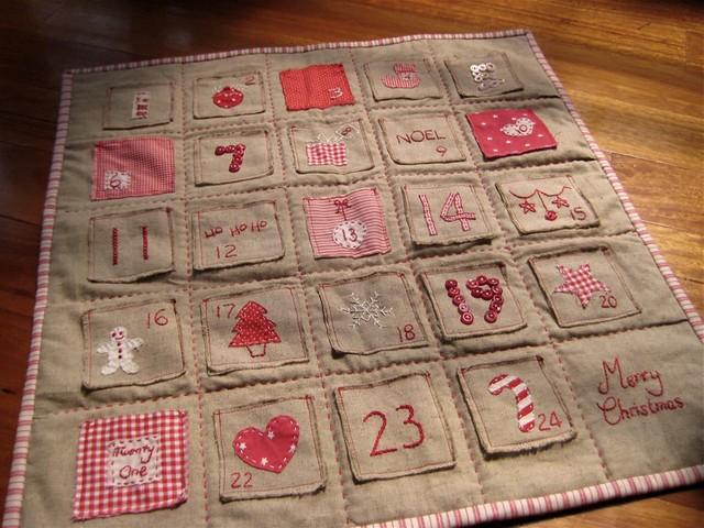 DQS5 Advent Calendar Quilt