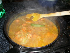 Carrot curry ... much nicer than it sounded!! (Laquet) Tags: food blog curry homecooking roti chappati foodwevecooked foodweveeaten