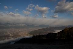 長峰山から見下ろす安曇野