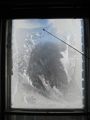 Livingroom window frost