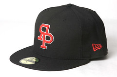 Rock Paper Scissors New Era - Varsity Logo Cap - Black/Red