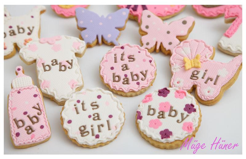 Kız Bebek Kurabiyeleri -3
