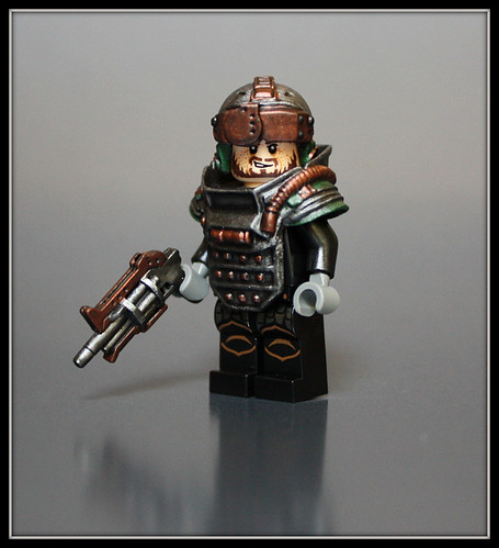 Custom minifig ARES: Wilderness Trooper