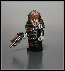 ARES: Wilderness Trooper (Geoshift) Tags: lego ares customminifig legocustomminifig amazingarmory unitedarmory